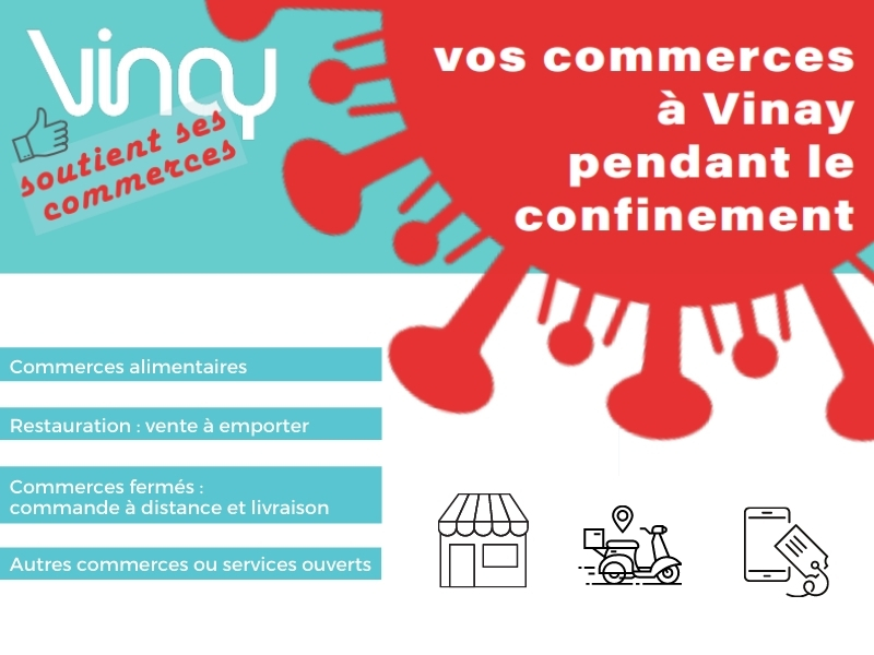 COEUR DE COMMERCE_ actualité confinement_Commerces Vinay