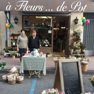 A FLEURS DE POT_Fleuriste & décoration-VITRINE