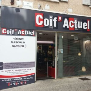 COIF ACTUEL_Salon de coiffure-VITRINE