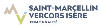 Mon coeur du Commerce smvi - Partenaire communauté de communes st marcellin - logo de la com com