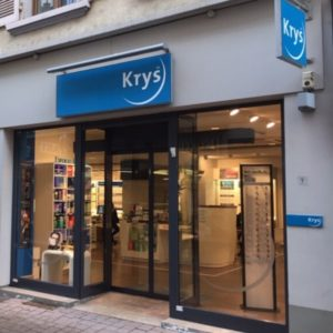 KRYS_Opticien-VITRINE 1