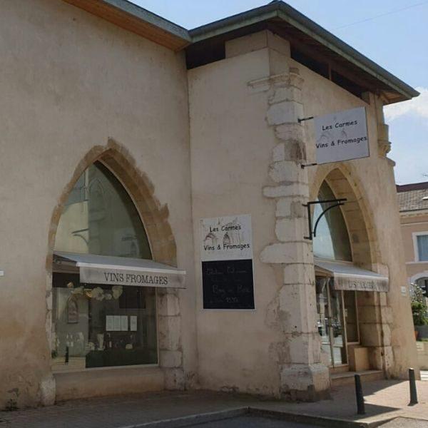 LES CARMES-Caviste Fromager-vitrine