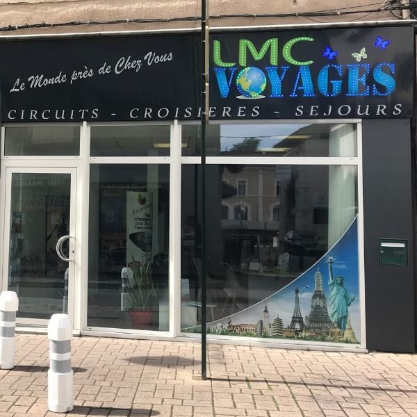 LMC VOYAGES - ANDRADE VOYAGES-Agence de voyages-vitrine