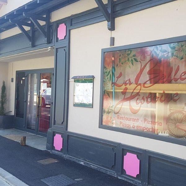 La Belle Histoire-Restaurant-vitrine