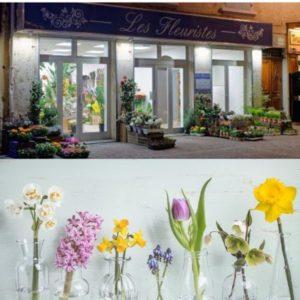 Les fleuristes-Fleuriste-vitrine