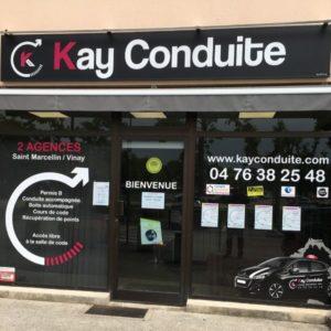 KAY CONDUITE_Auto école- Saint marcellin