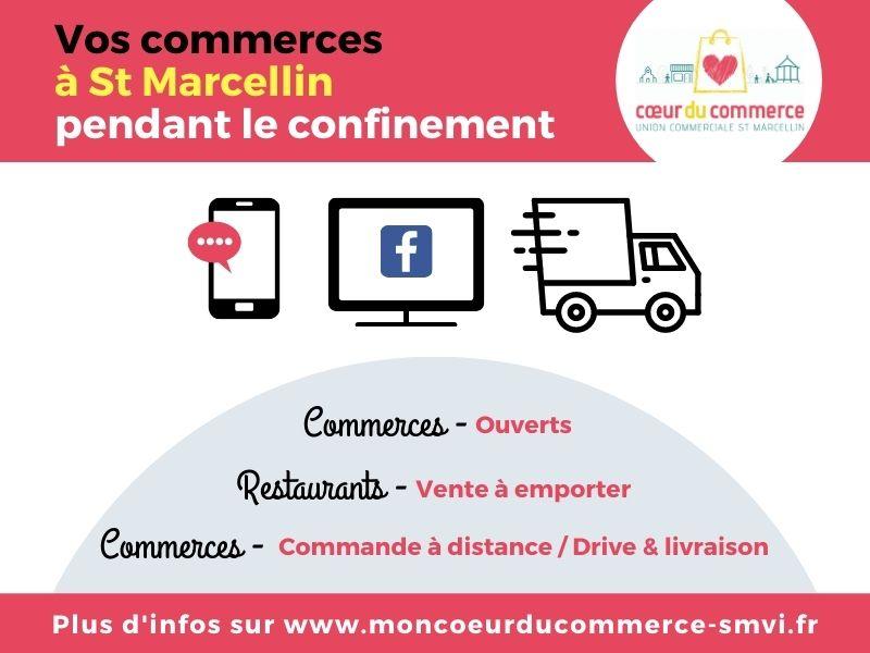 COEUR DE COMMERCE_ actualité confinement_Commerces Saint Marcellin_V2