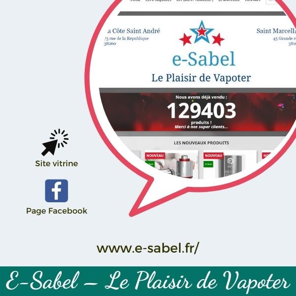 Coeur du commerce_vignette vente en ligne_E-Sabel - Le Plaisir de Vapoter