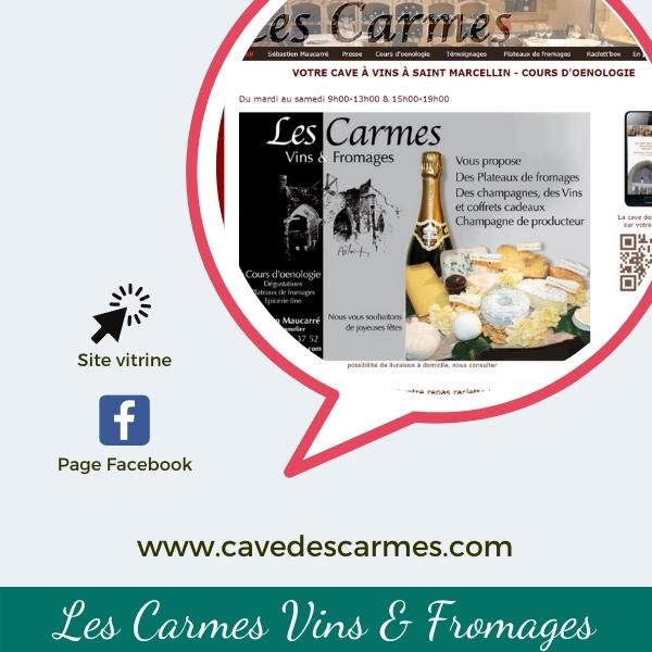 Coeur du commerce_vignette vente en ligne_Les Carmes Vins & Fromages