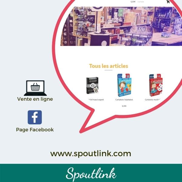 Coeur du commerce_vignette vente en ligne_Spoutlink