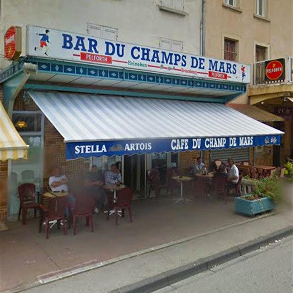 Bar du champ de mars - bar - Saint-Marcellin